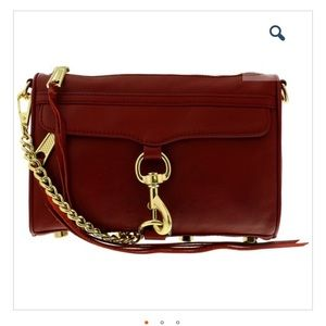 Rebecca Minkoff Mini MAC - Oxblood